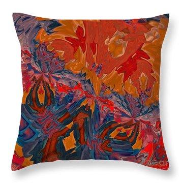 Throw Pillow featuring the digital art Van Mam by A zakaria Mami