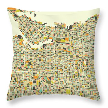 Vancouver Throw Pillows