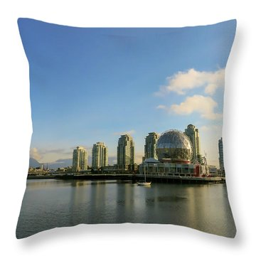 Vancouver Science World Throw Pillow
