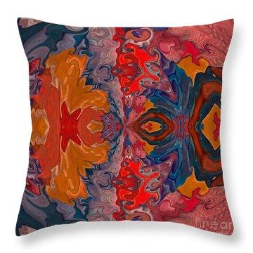 Throw Pillow featuring the digital art Vanlove by A zakaria Mami
