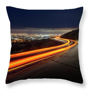Varooom And Rammstein Over The Silicon Valley Throw Pillow