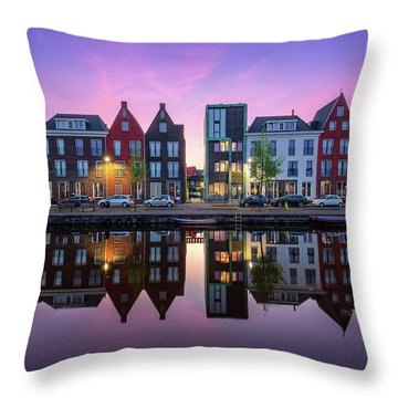 Vathorst Reflections Throw Pillow