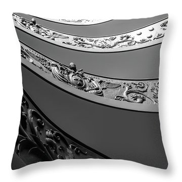 Throw Pillow featuring the photograph Vatican_museum by Mark Shoolery
