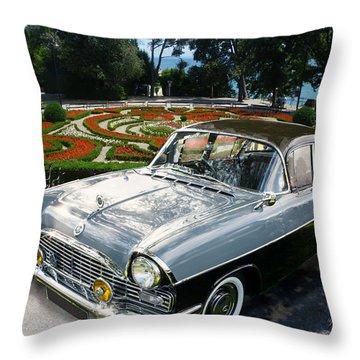 Vauxhall Cresta In Croatia Throw Pillow