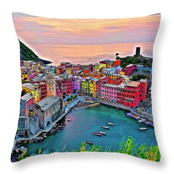 Made In Italy Throw Pillows