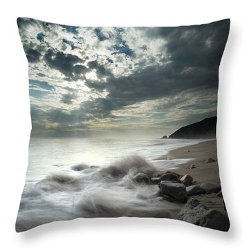 Ventura County Line Throw Pillow