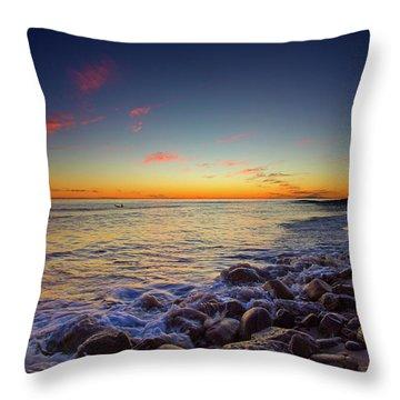 Ventura Sunset Throw Pillow