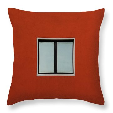 Verona Windows 2 Throw Pillow