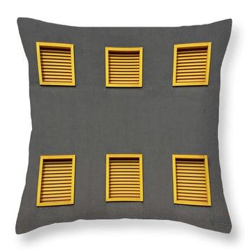 Verona Windows 3 Throw Pillow