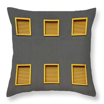 Verona Windows 3 Throw Pillow