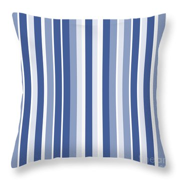 Vertical Lines Background - Dde605 Throw Pillow