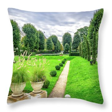 Vienna Garden Throw Pillow