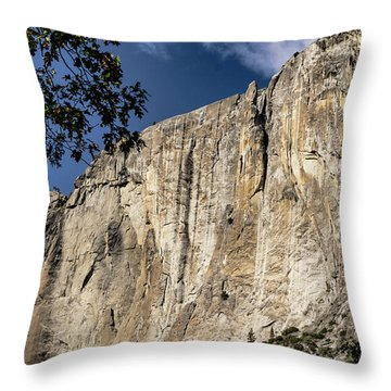 View From The Capitan Throw Pillow