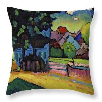 View Of Murnau, 1903 Throw Pillow