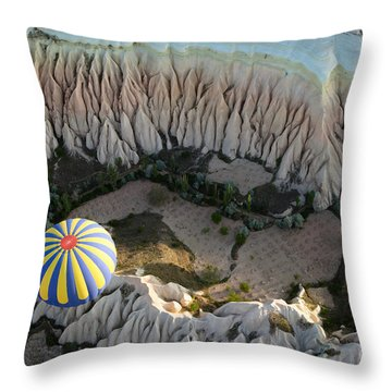 Hot Spring Throw Pillows