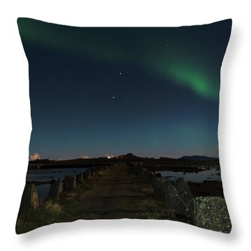 Viking Path Throw Pillow