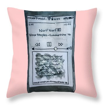 Vince Throw Pillow