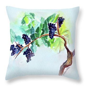 Vine And Branch Throw Pillow