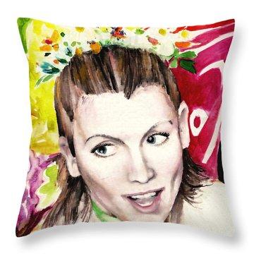 Vinotok Throw Pillow