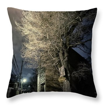 If Trees Could Talk Throw Pillow