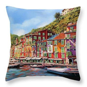 Viola Portofino Throw Pillow