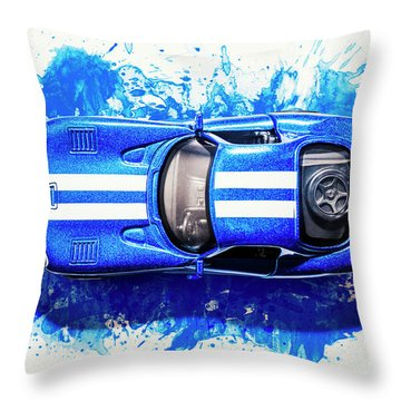 Viper Trails Throw Pillow