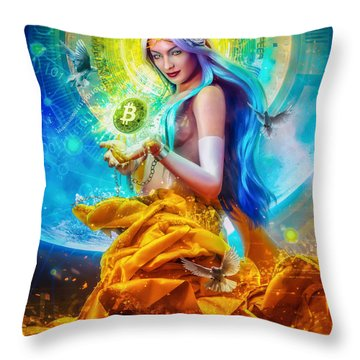 Vires In Numeris Throw Pillow