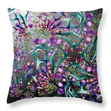 Vision Complex Remix One Throw Pillow
