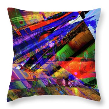 Visions Of Ghostlands Paul Throw Pillow