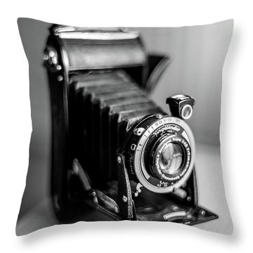 Throw Pillow featuring the photograph Voigtlander by Ross G Strachan