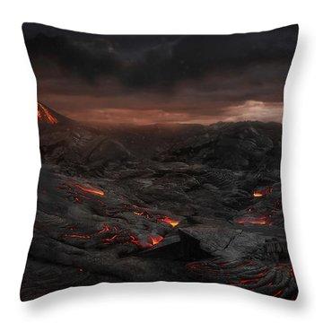 Vulcan Throw Pillows