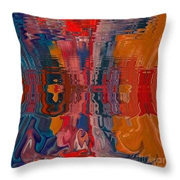 Throw Pillow featuring the digital art Von Freestyle by A zakaria Mami