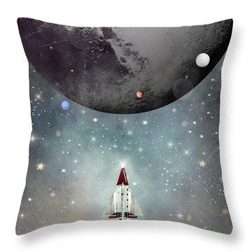 Solar System Throw Pillows