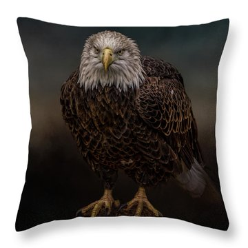 Waiting On The Storm Throw Pillow