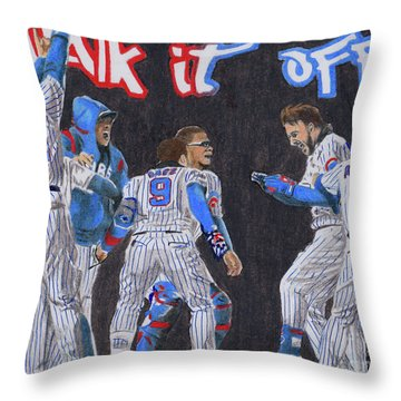 Walk It Off Throw Pillow