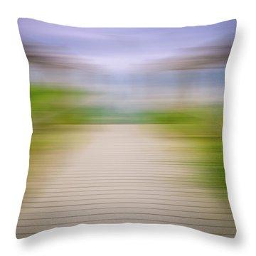 Walkway Throw Pillow