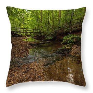 Walnut Creek Throw Pillow