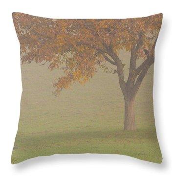 Walnut Farmer, Beynac, France Throw Pillow