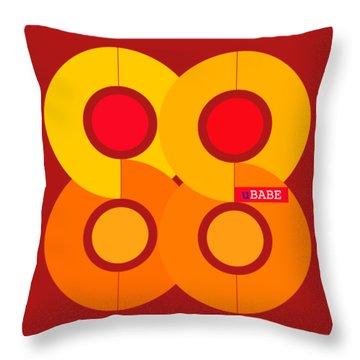 Warm Style Throw Pillow