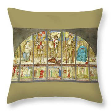 Wars Of The Roses - Digital Remastered Edition Throw Pillow