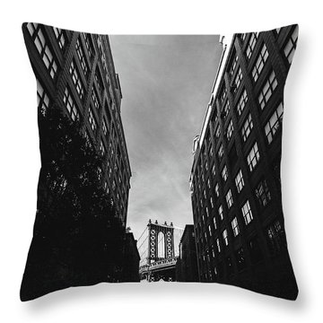 Washington Street Throw Pillow