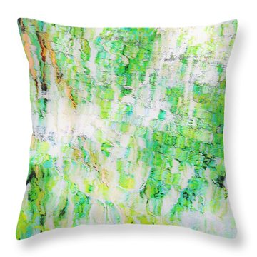 Water Colored  Throw Pillow