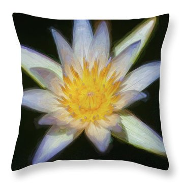 Water Lily 101 Throw Pillow