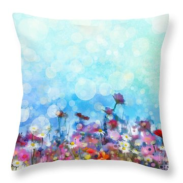 Hand Painted Throw Pillows