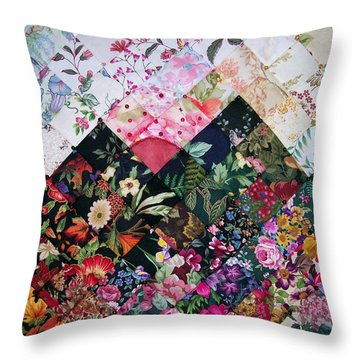 Watercolor Sunset Throw Pillow