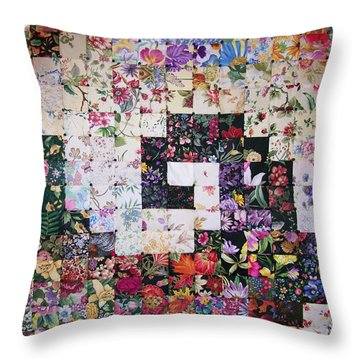 Watercolor Swirl Throw Pillow
