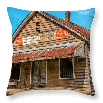 Wateree Country Store  Throw Pillow