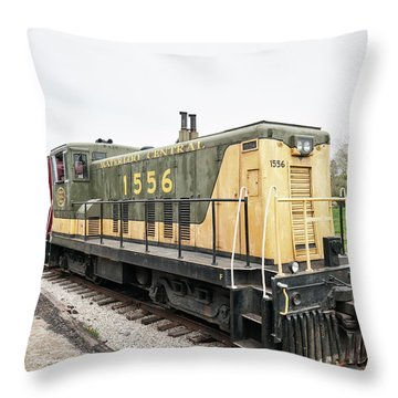 Waterloo Central Throw Pillow