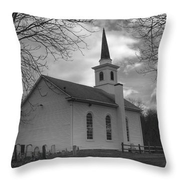 Waterloo United Methodist Church - Back Throw Pillow