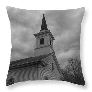 Waterloo United Methodist Church - Detail Throw Pillow